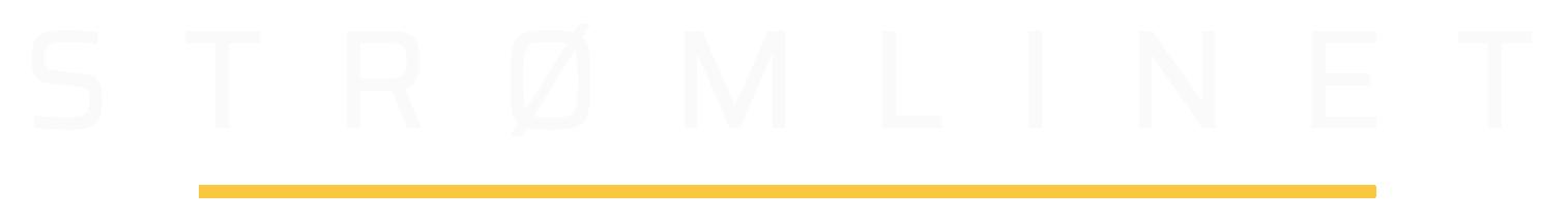 Logo strømlinet